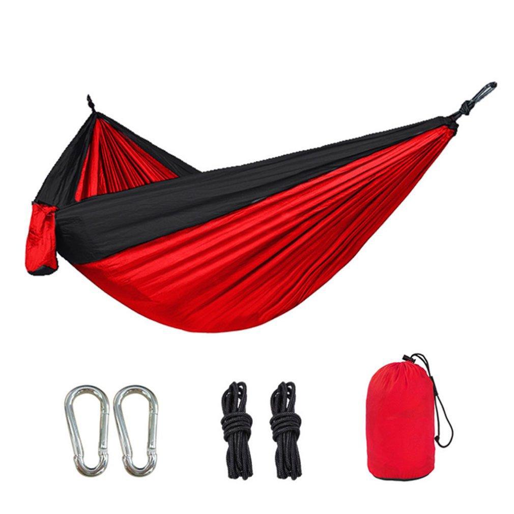 Portable Hammock Garden Swing Hanging Sleeping Bed Camping Outdoor Backpacking Travel Survival Bed Parachute Hammocks