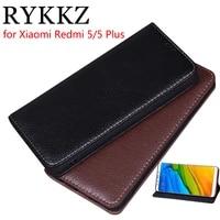 rykkz luxury leather flip cover for xiaomi redmi 5 5 7 mobile stand case for xiaomi mi redmi 5 plus leather phone case cover