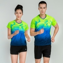 Summer Couples Sports Suit, Fast Drying Clothes, Sports T-Shirt, Badminton Suit, Running Fitness Suit For Men And Women