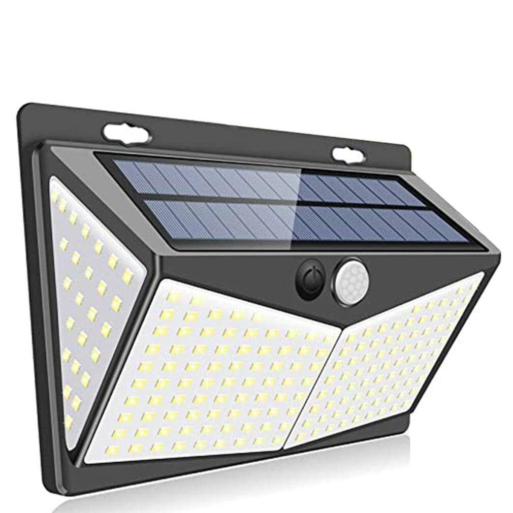 Outdoor courtyard garage solar induction wall light 208 lamp beads Split courtyard garage light LED COB