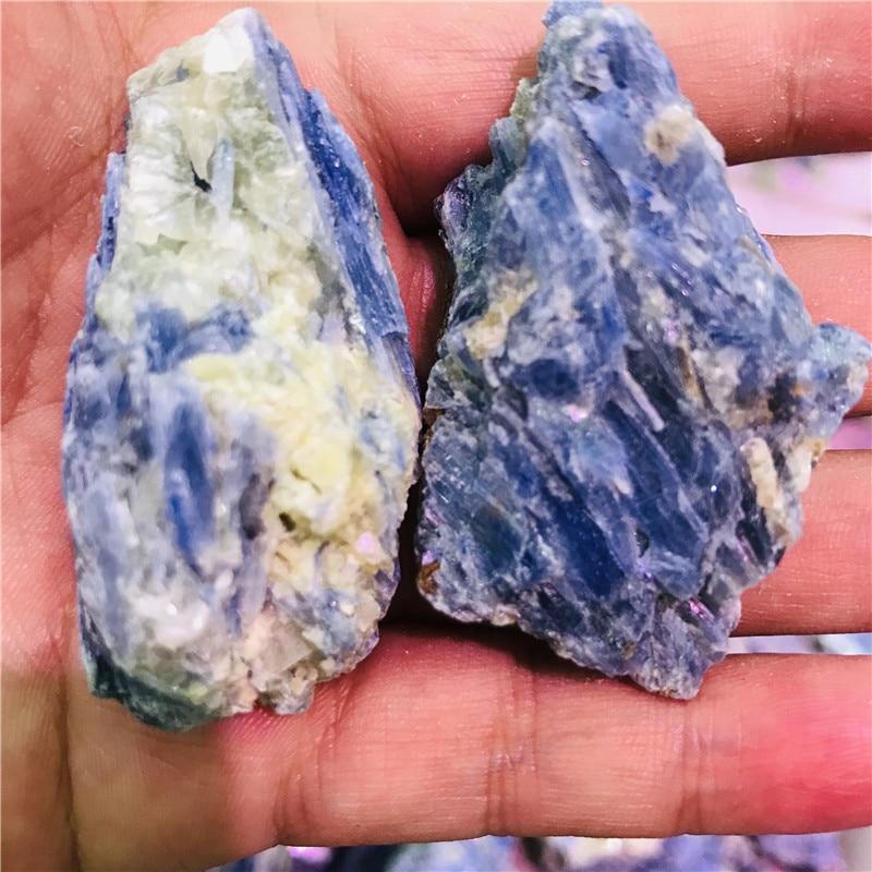 100-200g azul raro cristal cianita natural piedra preciosa mineral espécimen curativo