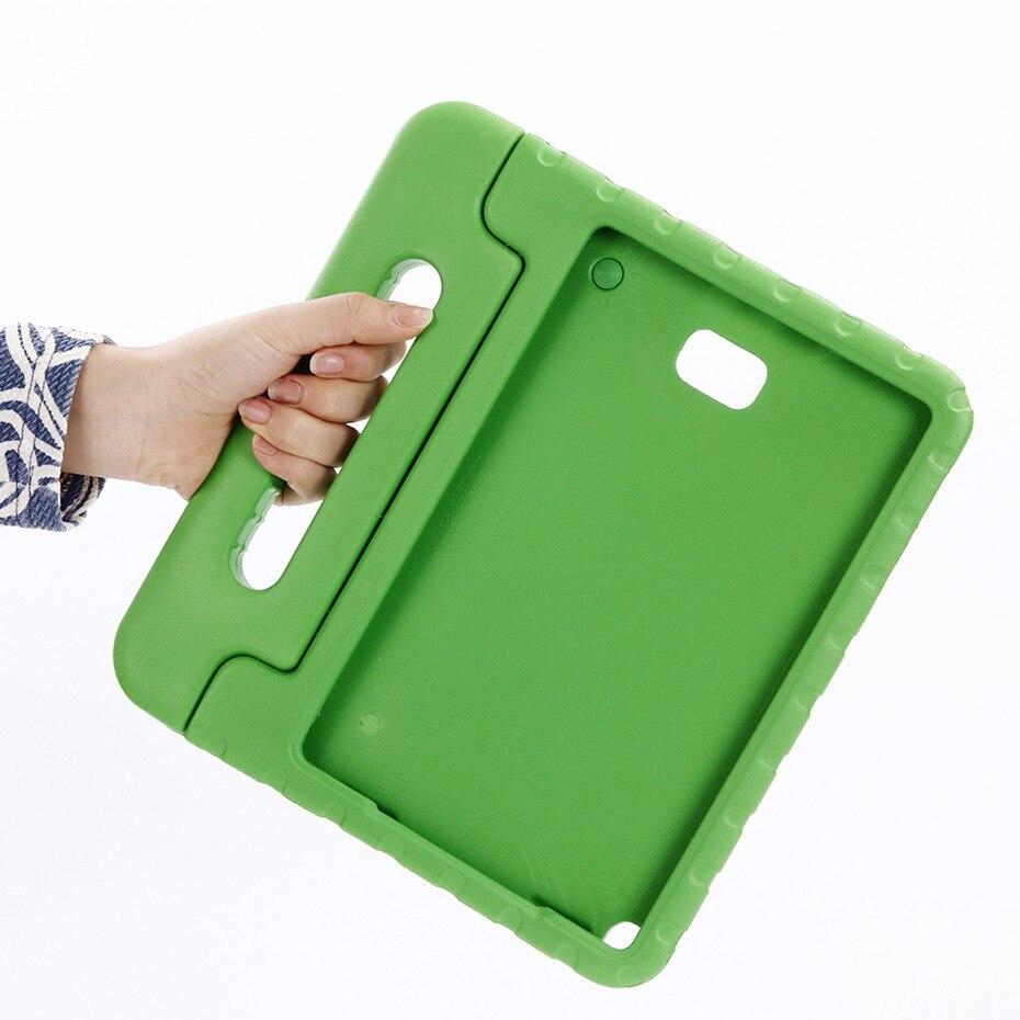Для Samsung Galaxy Tab A 6 A6 10,1 с s-ручкой версия Чехол для детей P580 P585 ручной держатель для детей Безопасный EVA SM-P580 чехол для планшета