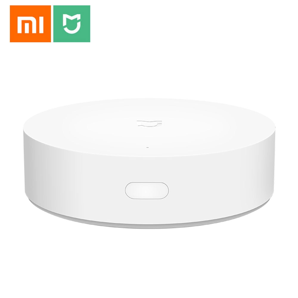 Novo xiaomi mijia casa inteligente multi-modo gateway 3 zigbee wifi bluetooth malha hub trabalhar com mi casa app apple homekit
