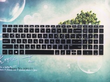 "Korean Keyboard Cover Skin Protector For 2018 HP ENVY x360 2-in-1 15.6"" Laptop/ Pavilion 15.6 Inch Series / Envy 17.3"" series"