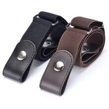 Cinturón sin hebilla para pantalones vaqueros, vestidos, sin hebilla, elástico, para mujeres y hombres