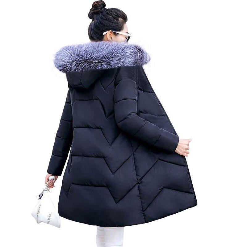 5XL 6XL chaqueta de invierno de gran tamaño para mujer abrigo de piel grande de plumón Abrigo con capucha de invierno para mujer chaqueta de invierno delgada para mujer Parkas largas cálidas