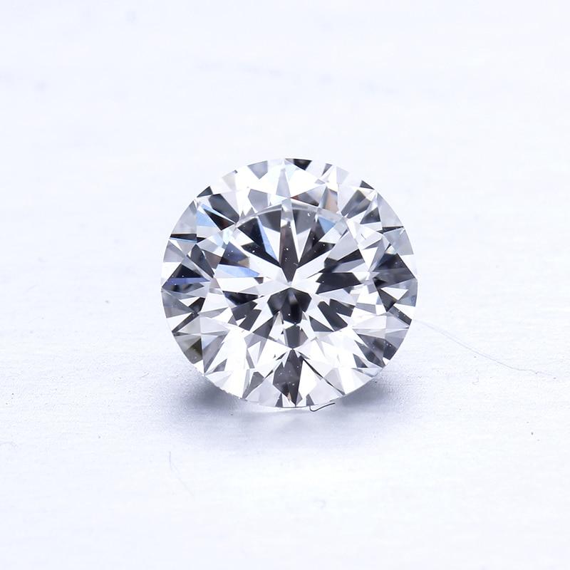 10 قطعة/الحزمة 2.8 مللي متر DEF اللون VS وضوح جولة HPHT مختبر نمت فضفاض ريال الماس لصنع المجوهرات