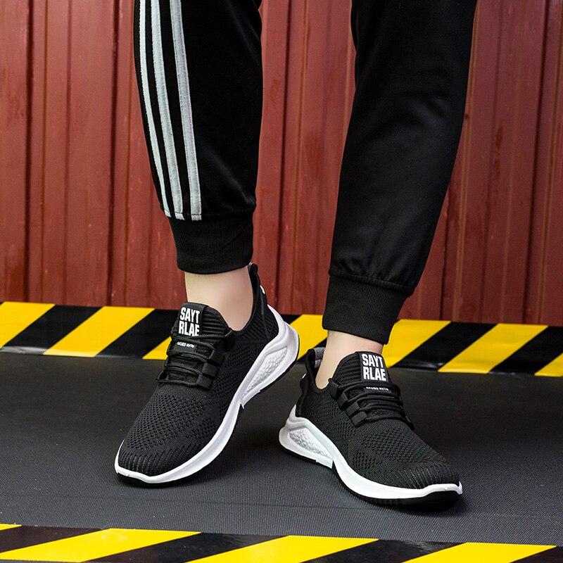 Кроссовки мужские легкие, удобная спортивная обувь для ходьбы, модные повседневные кросовки