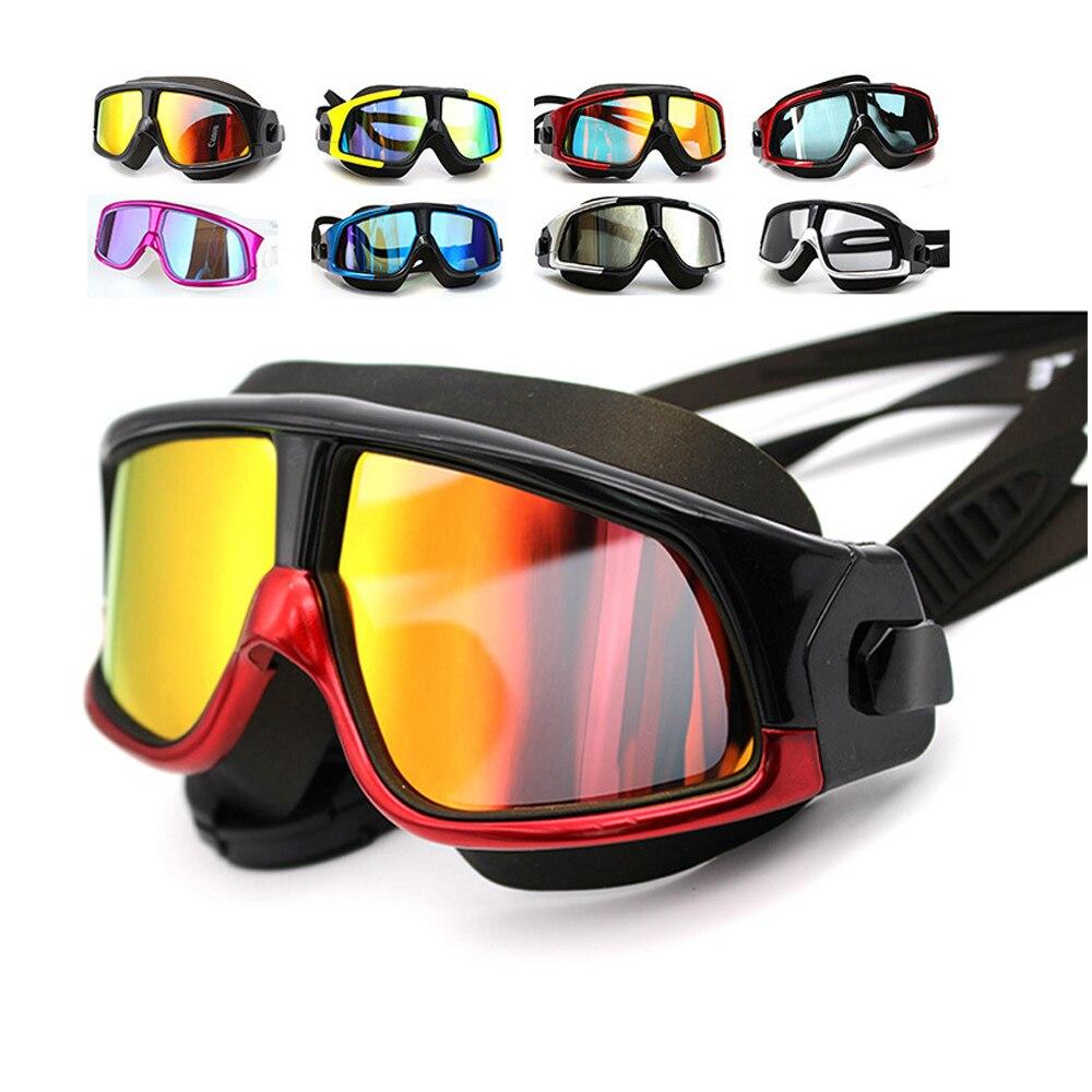 Новые Красочные Анти-туман Анти-УФ плавательные очки плавать очки модные плавательные очки для мужчин и женщин, серфинг, дайвинга, защита дл...