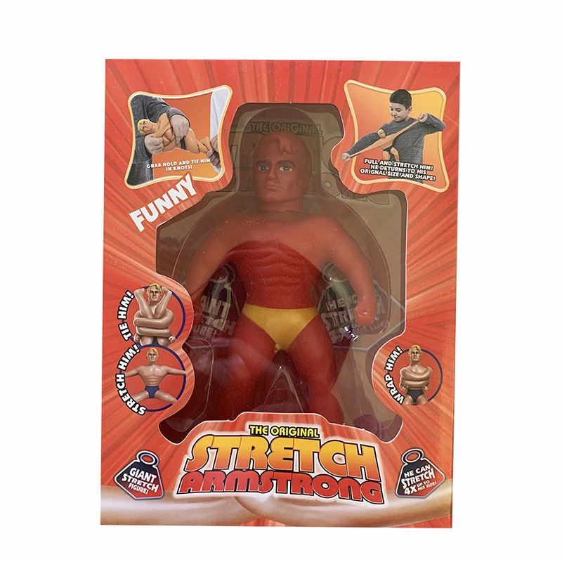 Stretch Armstrong Figure Funny Squeeze Toy Twisting Pulling Bending Super Stretch Toy Antistress Kid Toys Gift enlarge