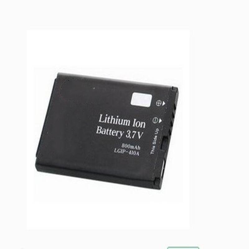 LLGIP-410A de la batería del teléfono para LG KG200 KG278 278A KE770 KF500 KF510 KG289 KG77 800mAh teléfono móvil con soporte para teléfono para regalo