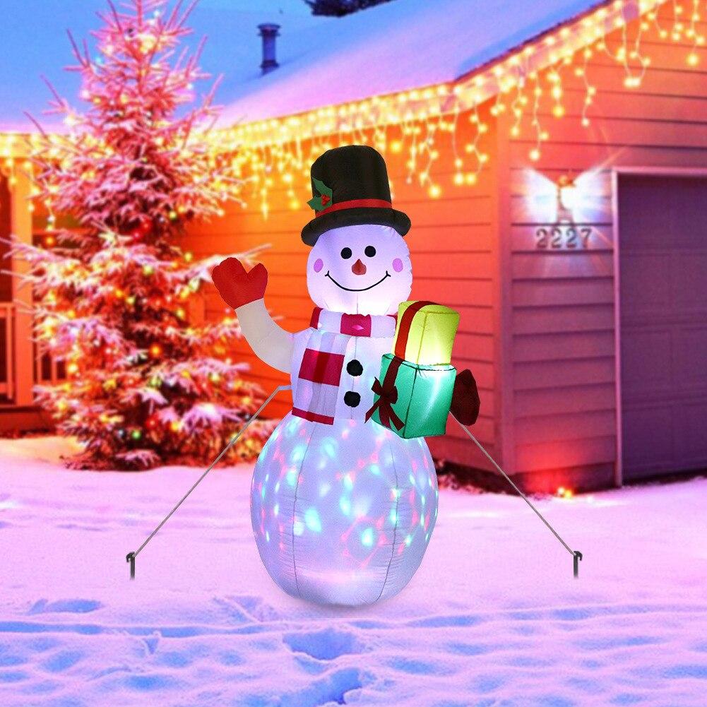 عيد الميلاد ثلج نموذج قابل للنفخ نافيداد ليلة ضوء ناتال ثلج دمية أدورنوس دي نافيداد عيد الميلاد الديكور للديكور المنزل