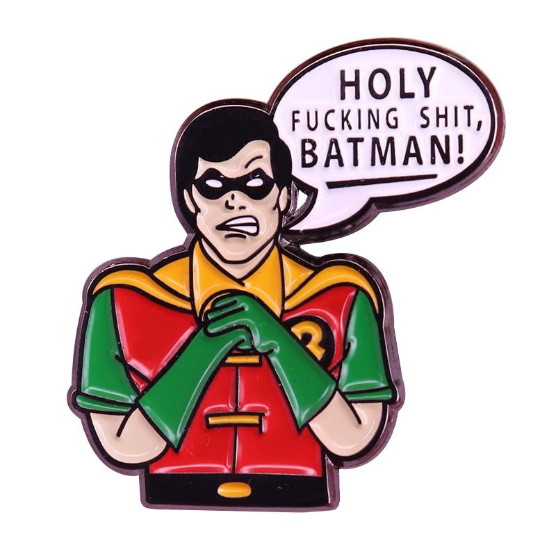 Batman Robin broche Super amigos Pin de solapa