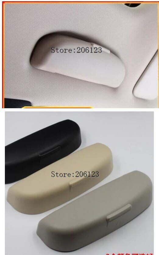 Accessories Fit For Honda Fit Jazz 2014 2015 2016 GK5 Car Sun Visor Glasses Box Case Sunglasses Holder Clip Storage