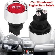 12V Car Illuminated Engine Start Switch Push Button Race Starter Accessories