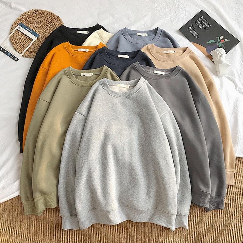 Мужские толстовки с капюшоном, Мужская Уличная одежда, однотонная пуловер свитшот, худи, новинка 2021, мужская Толстовка на весну и осень