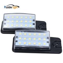 2Pcs LED Number Car License Plate Light Lamp For Infiniti EX25 EX35 EX37 QZ50 FX35 FX37 FX50 QX70Nissan Altima Pathfinder Murano