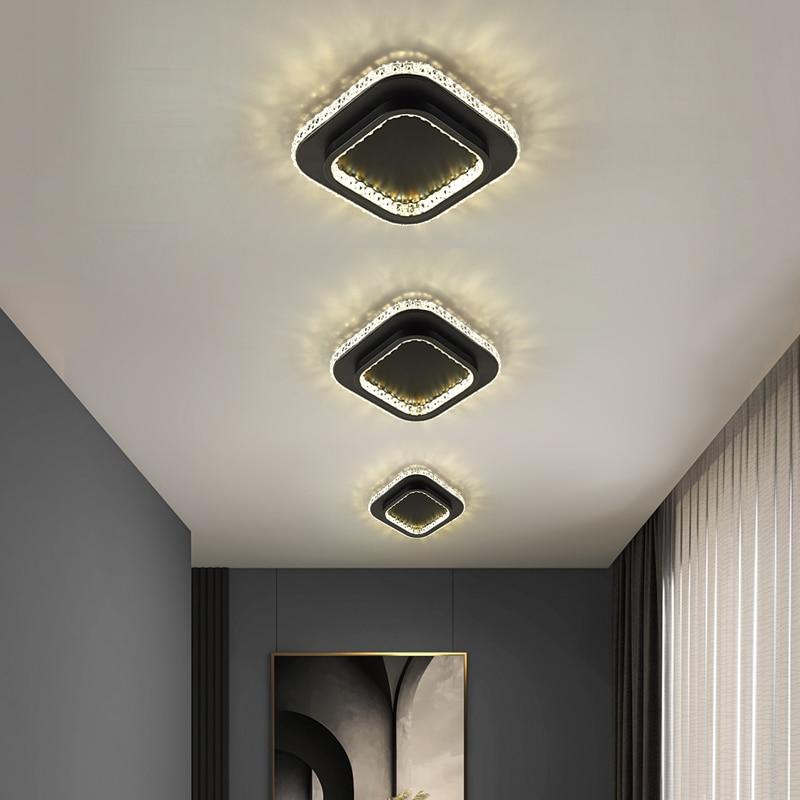 Светодиодные светильники Lusters, потолочные люстры 220 В, современный абажур, украшение для коридора, лампа для спальни, гостиной