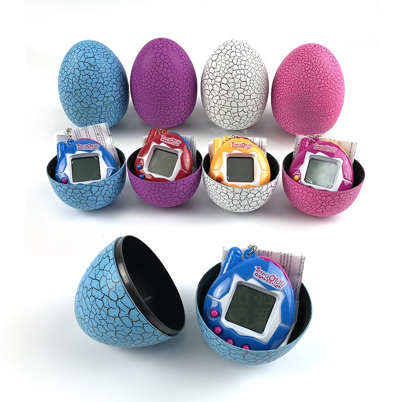 Tumbler Dinosaur Egg Multi-colors Virtual Cyber Digital Pet Game Toy Tamagotchis Digital Electronic E-Pet Christmas Gift