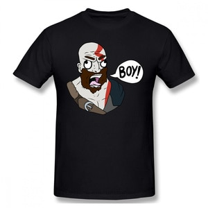 2021 Leisure Fashion cotton T-shirt God of War Greek Mythology Kratos Athena's Blades Game s Funny Tops BOY Pure Harajuku