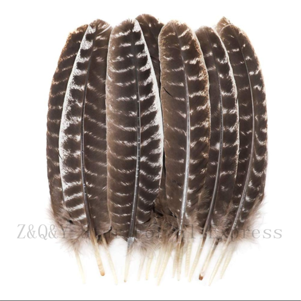 10-100 natural completo 20-35CM (8-14 pulgadas) flor natural pavo nido bosque DIY joyería artesanía accesorios pluma