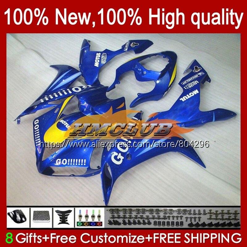 الجسم لياماها YZF R 1 1000 CC الأزرق الذهاب الساخن 1000CC YZF-1000 YZFR1 61No.38 YZF R1 YZF-R1 04 05 06 YZF1000 2004 2005 2006 هدية