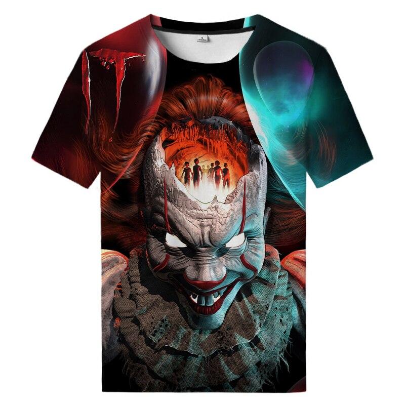 Horror Movie 3D Printed Shirt  It Chapter Two T Shirt Cool Hip Hop T Shirt Unisex Street T Shirt printed t shirt neonato blumarine printed t shirt
