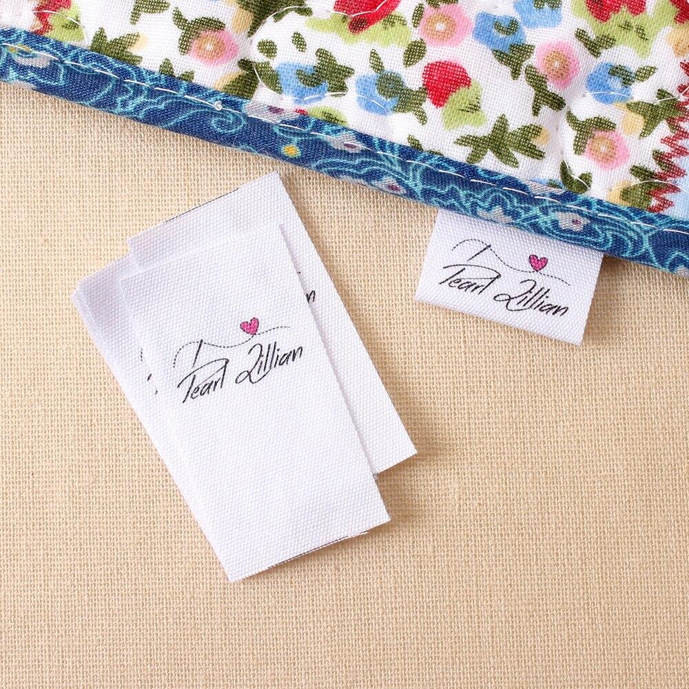 Benutzerdefinierte Stoff Etiketten, Personalisierte, Stoff Etiketten Nähen-auf, Custom Design, Name Hinzugefügt, farbecht 100% Baumwolle (MD2070)