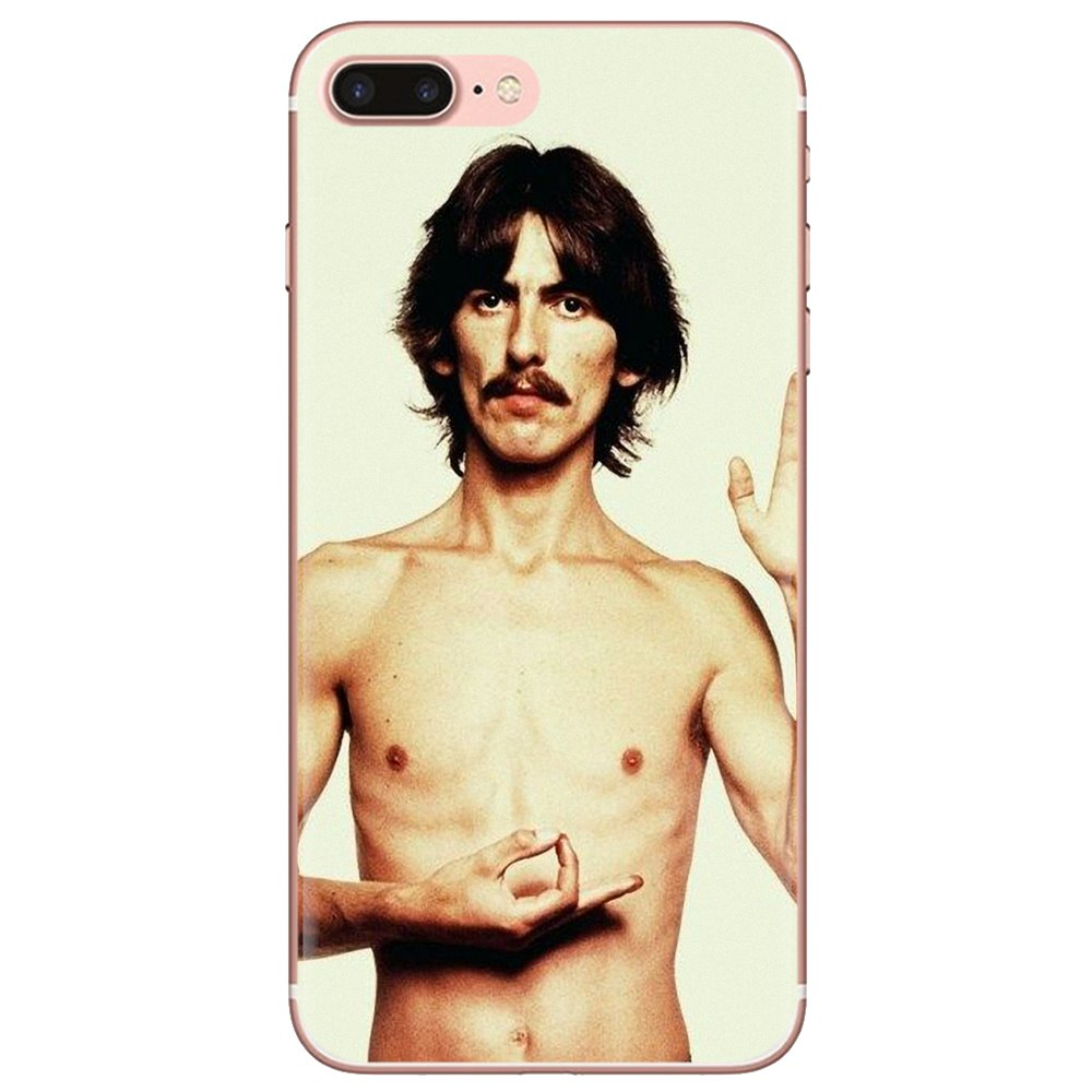 George Harrison, mi Beatle favorito para iPhone 11 Pro 4 4S 5 5S SE 5C 6 6S 7 8 X XR XS Plus para iPod Touch, funda de silicona