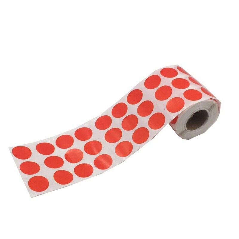 900 uds/rollo de papel de destino para caza de Tiro con Arco adhesivo