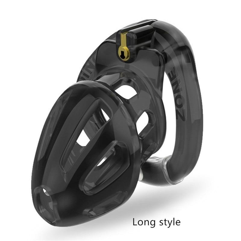 Nowy Stealth Lock otwierany pierścień męski urządzenie Chastity z 4 rozmiarami pierścienie na penisa, klatka z otworem wentylacyjnym, blokada dziewictwa, zabawki erotyczne dla mężczyzn.