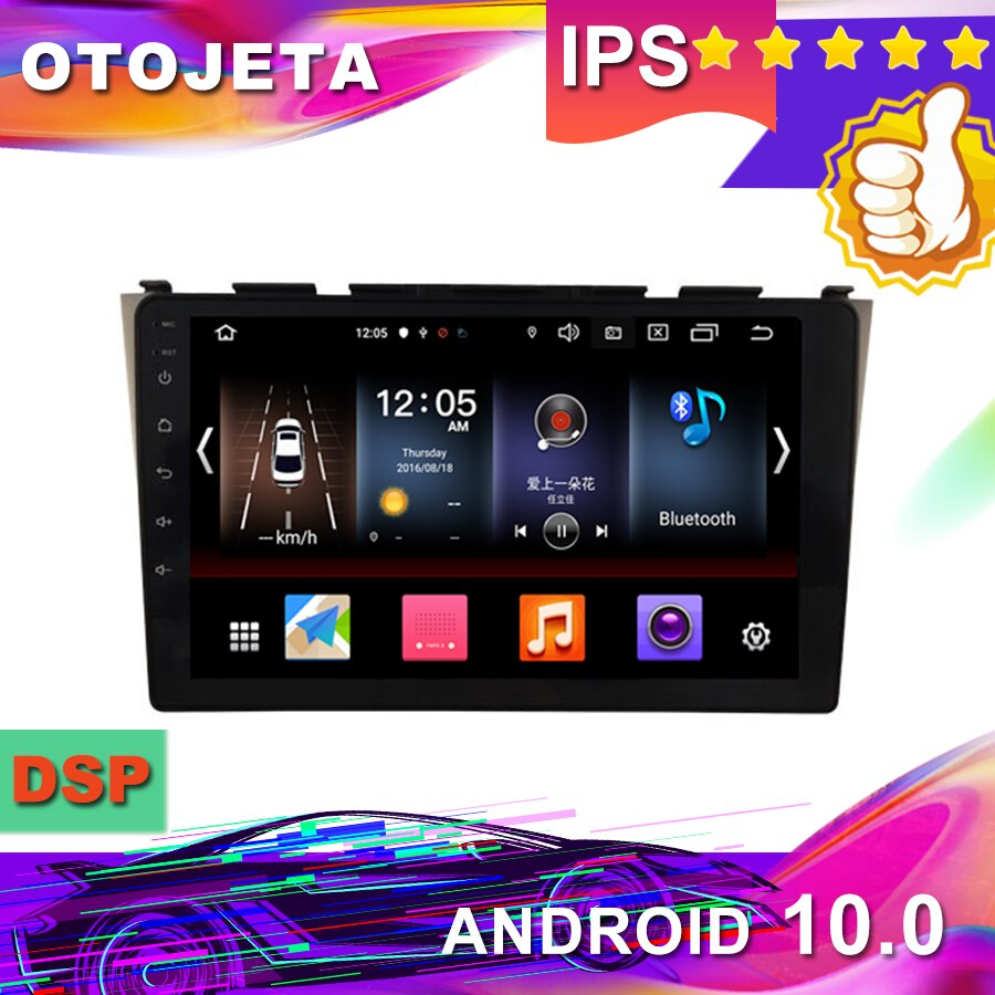 New Arrival Android 10.0 Car GPS for Honda Crv cr-v 2006-2011 Car Radio car Multimedia 1080P tape recorder bluetooth navigation