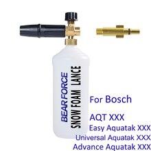 Hochdruck Seife Schäumer Schnee Schaum Flasche Shampoo Sprayer Schnee Foam Lance für Bosch AQT Aquatak Auto Washer Druck Washer