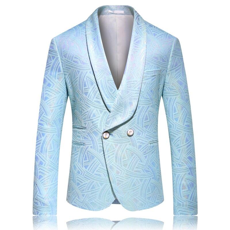 Новый стиль, мужские весенние высококачественные блестящие куртки/мужской облегающий Модный деловой костюм, пальто, платье для жениха, оде...