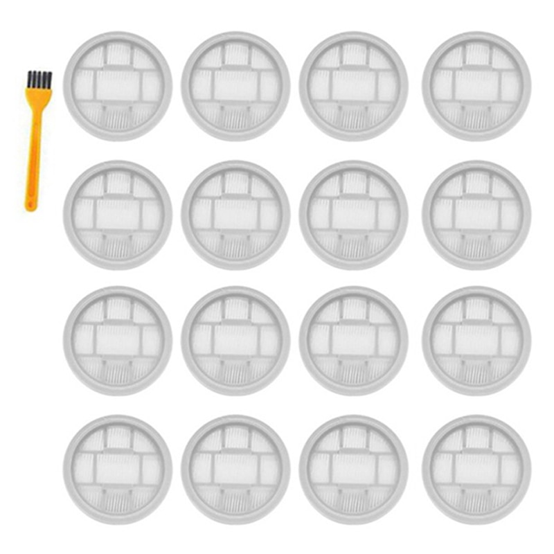 16PCS for Xiaomi Deerma Wireless Handheld Vacuums Cleaner VC20 VC21 VC20S Washable Hepa Filter Filtration Parts