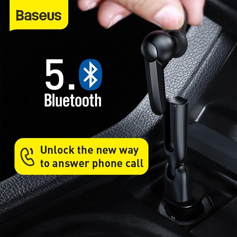 Baseus Магнитная Зарядка, беспроводные Bluetooth наушники, одна гарнитура с микрофоном, бизнес Bluetooth гарнитура для вождения автомобиля