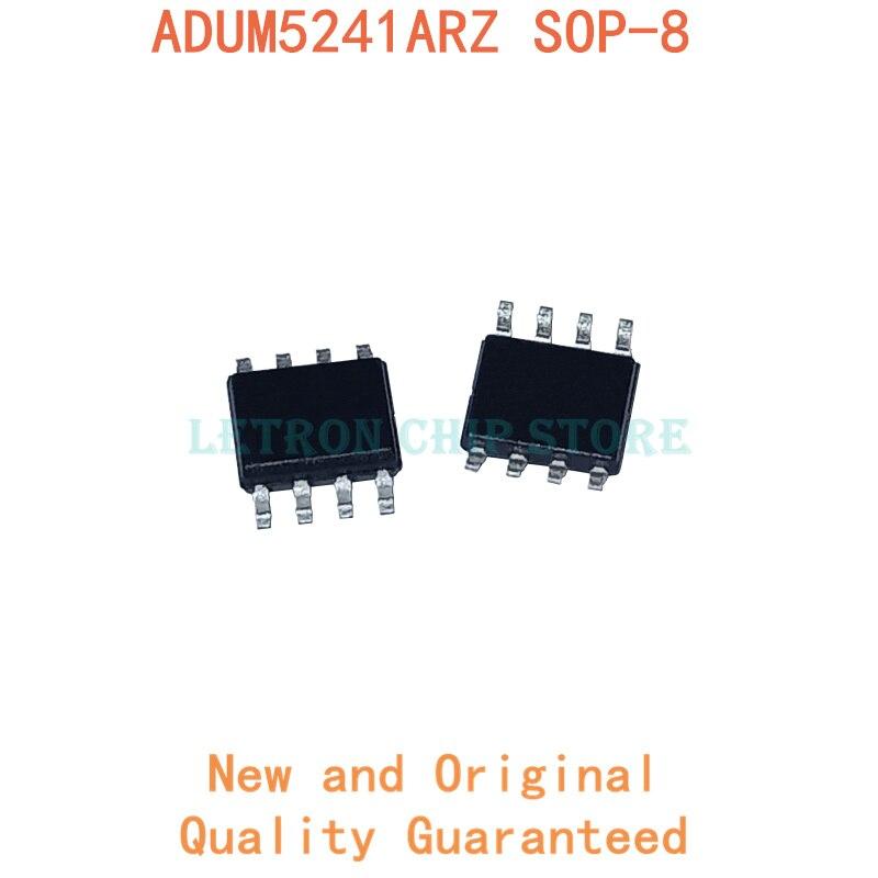 10 قطعة ADUM5241ARZ SOP8 ADUM5241AR SOP-8 ADUM5241A SOP ADUM5241 SOIC8 5241ARZ SOIC-8 5241AR SMD جديدة ومبتكرة IC