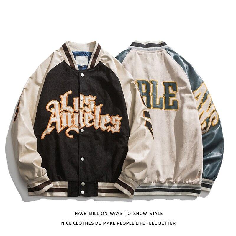 Коллекция 2021 года, Nieuwe Lente & Herfst Borduurwerk, бейсбольные куртки, мужские куртки унисекс, красивые стильные куртки в стиле хип-хоп