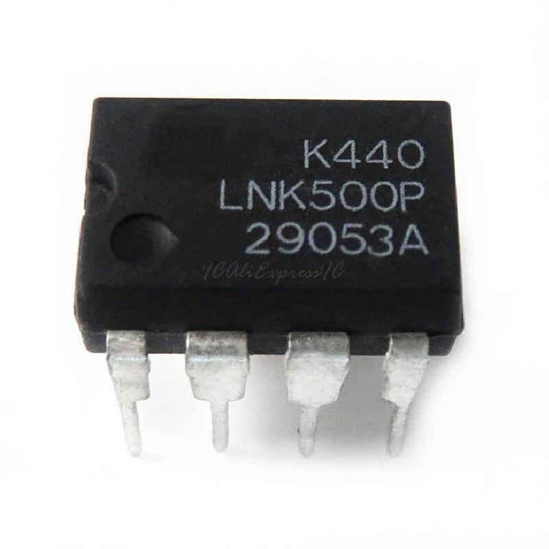 10 pçs/lote LNK500PN LNK500P LNK500 DIP-7 Em Estoque