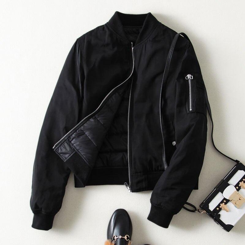 KMETRAM Streetwear pareja Ultra ligero chaqueta Otoño Invierno chaqueta mujer deportes bombardero chaqueta moda Parka Manteau Femme MY