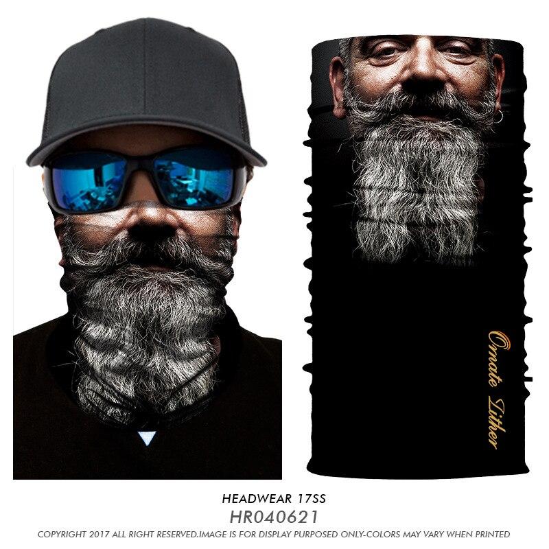 Venom ciclismo Mascarillas Bandana cuello polaina Tubular bufanda barba Joker diadema pasamontañas mascarilla facial pañuelo para la cabeza de la bicicleta
