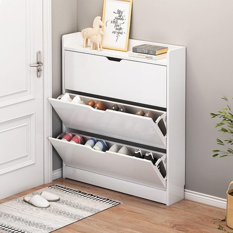 Шкафы для обуви мебель для прихожей женский стеллаж для обуви большой емкости многофункциональные компактные Шкафы для прихожей