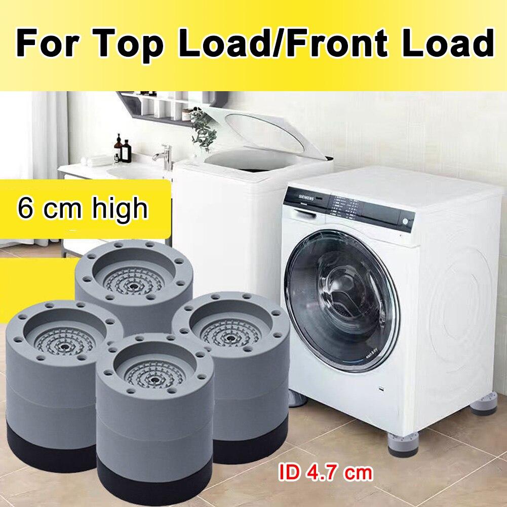 2/4 шт., универсальные противоударные резиновые накладки на ножки стиральной машины