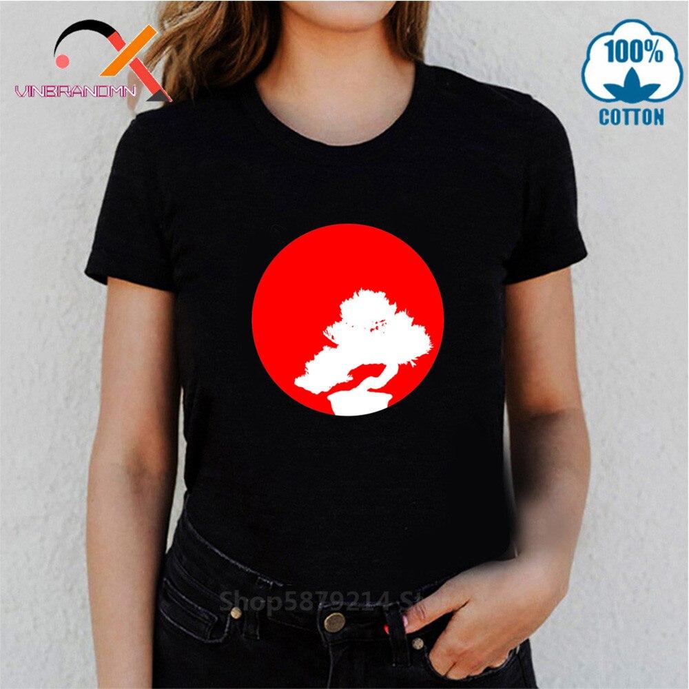 Cobra Kai Retro Kung Fu camiseta Sun Bonsai camisetas del árbol Miyagi Do Bonsai árbol Karate mujer Martialer artes Japón 80s mejor camiseta