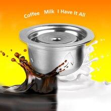 Filtres à café Vip Link pour Nespresso Vertuo Vertuoline Plus & Delonghi ENV150 dosette à capsules réutilisable rechargeable en acier inoxydable