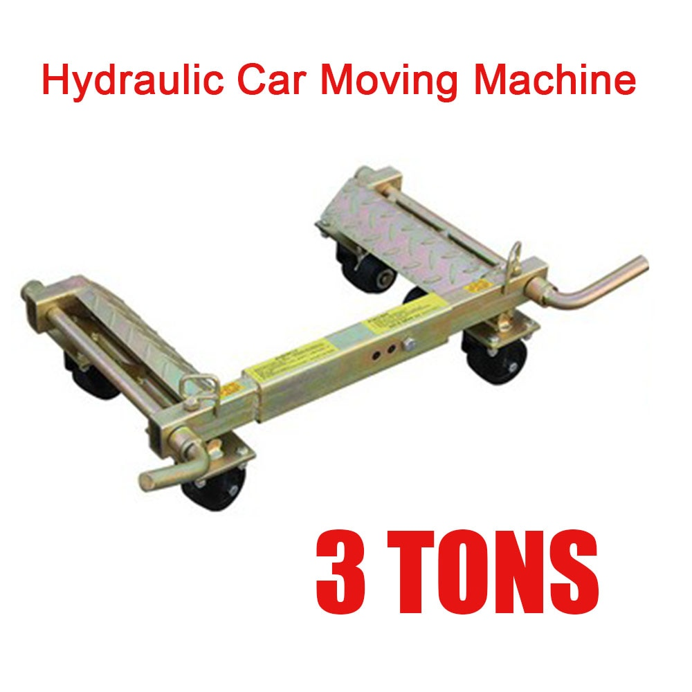 3T الهيدروليكية سيارة تتحرك آلة ماكس تتحرك العالمي عجلة سيارة المحرك الهيدروليكية مقطورة مركبة جهاز المحمول