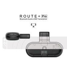 GuliKit baja latencia Plug And Play ruta Pro Audio inalámbrico Bluetooth transceptor USB para los accesorios del interruptor NS Gulikit ruta Air
