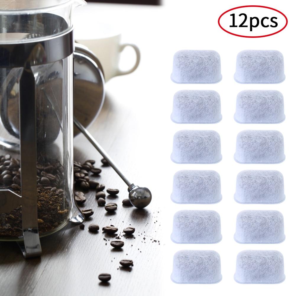 12 шт. универсальный фильтр для воды замена угля для Keurig производителей для Cuisinart кофемашин посылка с активированным углем