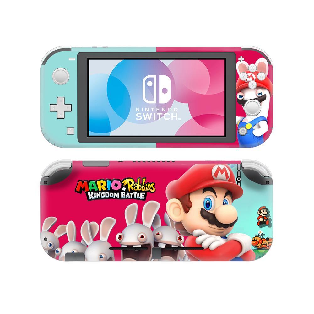 Super Mario Adesivo de Pele Decalque Para Nintendo Lite Do Console e Controlador de Interruptor Interruptor Nintend Lite Protetor Da Pele Adesivo de Vinil