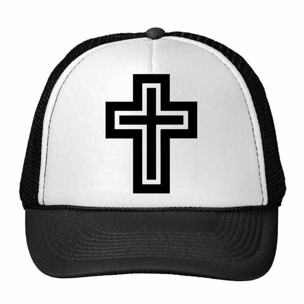 Religion Christianity Belief Church Design Art  Hat Baseball Cap Nylon Mesh Hat Cool Children Hat Adjustable Cap